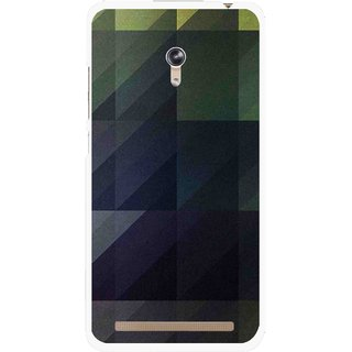 Snooky Printed Geomatric Shades Mobile Back Cover For Asus Zenfone 6 - Multi