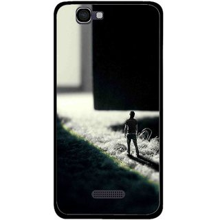 Snooky Printed God Door Mobile Back Cover For Micromax Canvas 2 A120 - Multi
