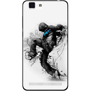 Snooky Printed Enjoying Life Mobile Back Cover For Vivo X5 Max - Multi