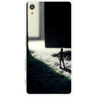 Snooky Printed God Door Mobile Back Cover For Sony Xperia Z5 Plus - Multi