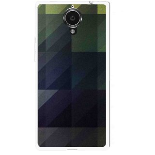 Snooky Printed Geomatric Shades Mobile Back Cover For Gionee Elife E7 - Multi