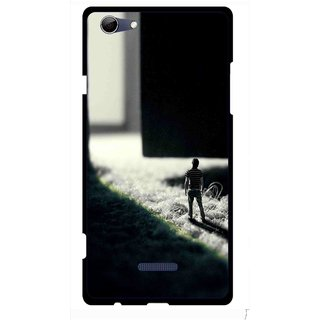 Snooky Printed God Door Mobile Back Cover For Micromax Canvas Selfie 3 Q348 - Multi