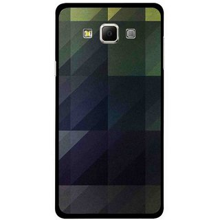 Snooky Printed Geomatric Shades Mobile Back Cover For Samsung Galaxy E5 - Multi