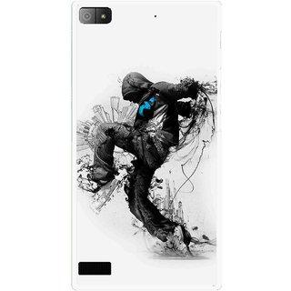 Snooky Printed Enjoying Life Mobile Back Cover For Blackberry Z3 - Multi