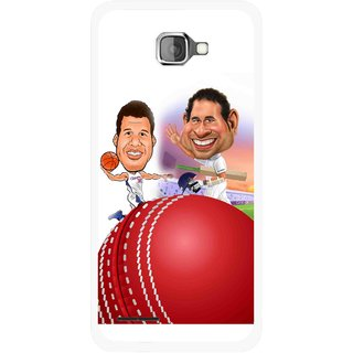 Snooky Printed Play Cricket Mobile Back Cover For Micromax Canvas Mad A94 - Multicolour