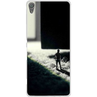 Snooky Printed God Door Mobile Back Cover For Sony Xperia XA1 - Multi