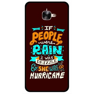 Snooky Printed Monsoon Mobile Back Cover For Letv Le 2 - Multicolour