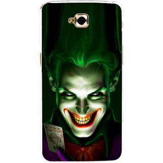 Snooky Printed Loughing Joker Mobile Back Cover For Lg G Pro Lite - Green