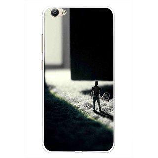 Snooky Printed God Door Mobile Back Cover For Vivo Y55 - Multi