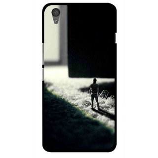 Snooky Printed God Door Mobile Back Cover For One Plus X - Multi