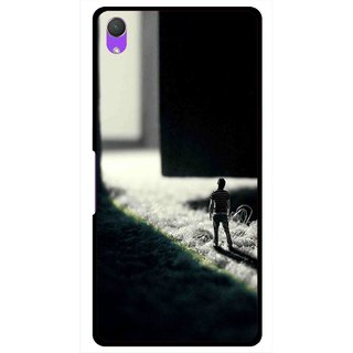 Snooky Printed God Door Mobile Back Cover For Sony Xperia Z2 - Multi