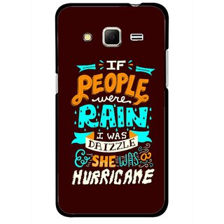 Snooky Printed Monsoon Mobile Back Cover For Samsung Galaxy Core Prime - Multicolour