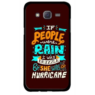 Snooky Printed Monsoon Mobile Back Cover For Samsung Galaxy J5 - Multicolour