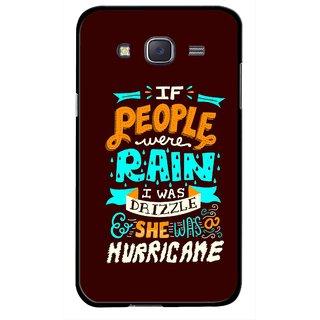 Snooky Printed Monsoon Mobile Back Cover For Samsung Galaxy J7 - Multicolour