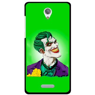 Snooky Printed Ismail Please Mobile Back Cover For Gionee Marathon M4 - Green