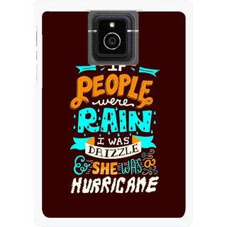 Snooky Printed Monsoon Mobile Back Cover For Blackberry Passport - Multicolour