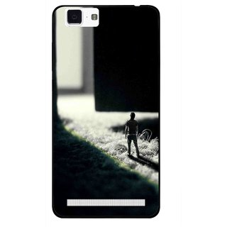 Snooky Printed God Door Mobile Back Cover For Vivo X5 Max - Multi