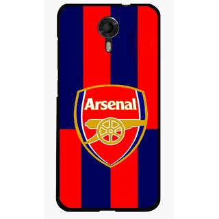 Snooky Printed Sports Logo Mobile Back Cover For Micromax Canvas Xpress 2 E313 - Red