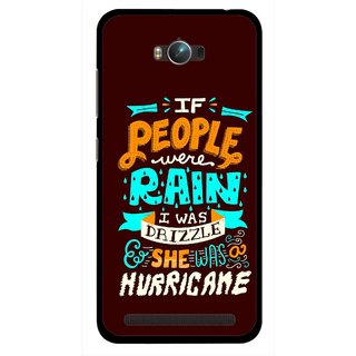 Snooky Printed Monsoon Mobile Back Cover For Asus Zenfone Max - Multicolour