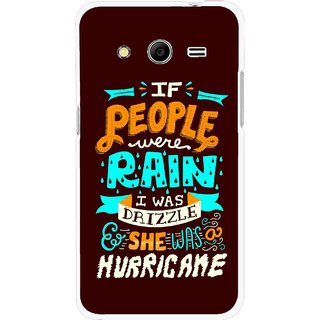 Snooky Printed Monsoon Mobile Back Cover For Samsung Galaxy G355 - Multicolour