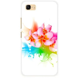 Snooky Printed Colorfull Flowers Mobile Back Cover For Asus Zenfone 3s Max ZC521TL - Multi