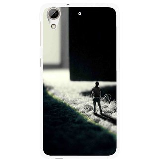 Snooky Printed God Door Mobile Back Cover For HTC Desire 626 - Multi