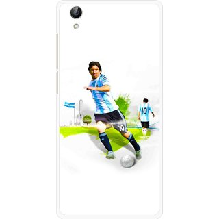 Snooky Printed Football Mania Mobile Back Cover For Vivo Y51L - Multi