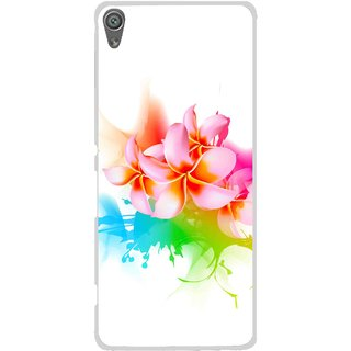 Snooky Printed Colorfull Flowers Mobile Back Cover For Sony Xperia XA1 - Multi