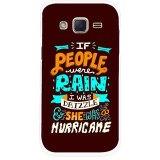 Snooky Printed Monsoon Mobile Back Cover For Samsung Galaxy j2 - Multicolour