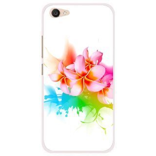 Snooky Printed Colorfull Flowers Mobile Back Cover For Vivo V5 Plus - Multi