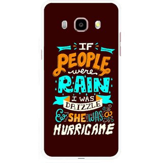 Snooky Printed Monsoon Mobile Back Cover For Samsung Galaxy J5 (2017) - Multicolour