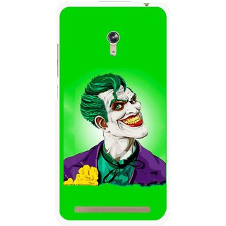 Snooky Printed Ismail Please Mobile Back Cover For Asus Zenfone 6 - Green
