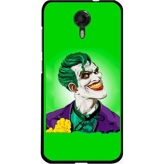 Snooky Printed Ismail Please Mobile Back Cover For Micromax Canvas Xpress 2 E313 - Green