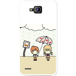 Snooky Printed Feelings in Love Mobile Back Cover For Huawei Honor 3C - Multi