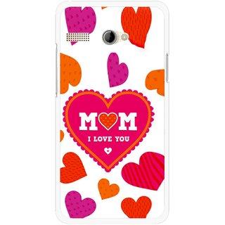 Snooky Printed Mom Mobile Back Cover For Intex Aqua 3G Pro - White