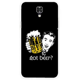 Snooky Printed Got Beer Mobile Back Cover For Lg X Screen - Multicolour