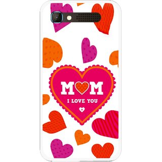 Snooky Printed Mom Mobile Back Cover For Intex Aqua Y2 Pro - White