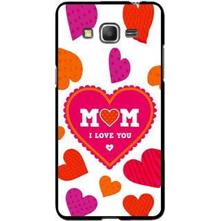 Snooky Printed Mom Mobile Back Cover For Samsung Galaxy Grand Max - White