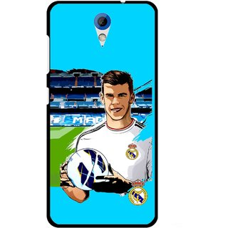 Snooky Printed Football Champion Mobile Back Cover For HTC Desire 620 - Blue