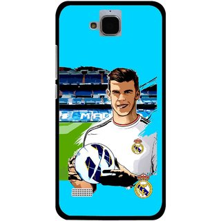 Snooky Printed Football Champion Mobile Back Cover For Huawei Honor Holly - Blue
