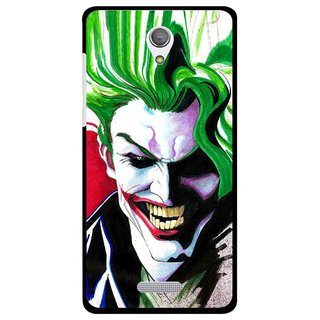 Snooky Printed Joker Mobile Back Cover For Gionee Marathon M4 - Multi