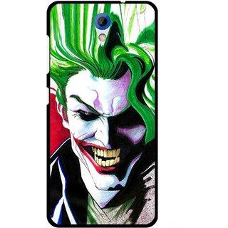 Snooky Printed Joker Mobile Back Cover For HTC Desire 620 - Multi