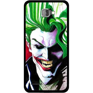 Snooky Printed Joker Mobile Back Cover For Micromax Canvas Mad A94 - Multi