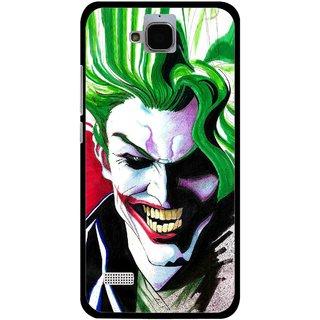 Snooky Printed Joker Mobile Back Cover For Huawei Honor Holly - Multi
