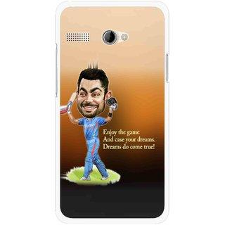 Snooky Printed True Dream Mobile Back Cover For Intex Aqua 3G Pro - Brown