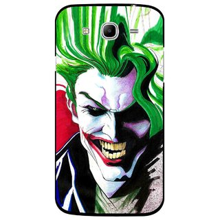 Snooky Printed Joker Mobile Back Cover For Samsung Galaxy Mega 5.8 - Multi