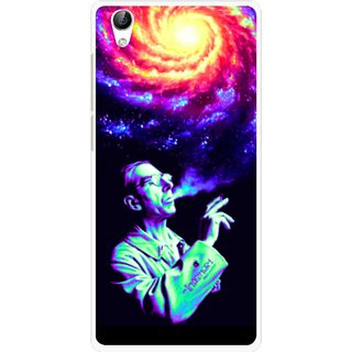 Snooky Printed Universe Mobile Back Cover For Vivo Y51L - Multi