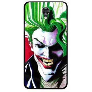 Snooky Printed Joker Mobile Back Cover For Lg X Screen - Multi