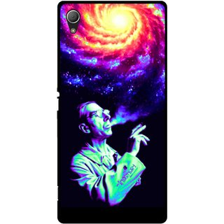 Snooky Printed Universe Mobile Back Cover For Sony Xperia Z3 - Multi