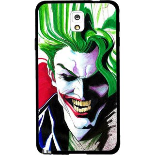 Snooky Printed Joker Mobile Back Cover For Samsung Galaxy Note 3 - Multi